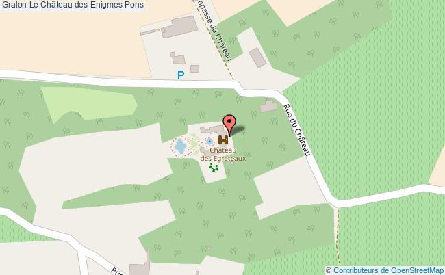 plan Le Château Des Enigmes Pons