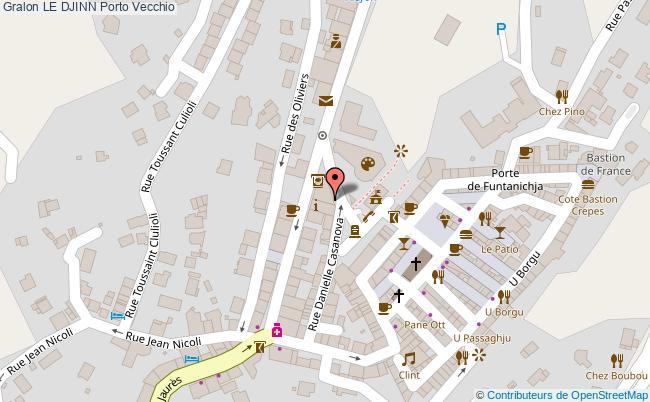 plan Le Djinn Porto Vecchio