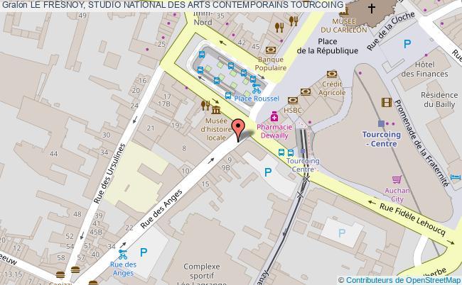 plan association Le Fresnoy, Studio National Des Arts Contemporains Tourcoing TOURCOING
