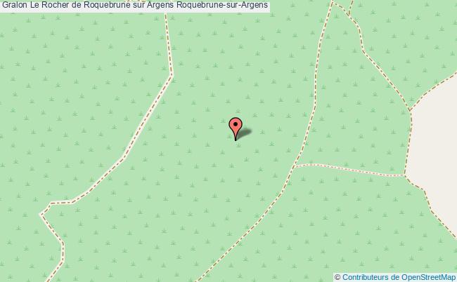plan Le Rocher De Roquebrune Sur Argens Roquebrune-sur-argens