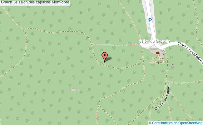 plan association Le Salon Des Capucins Mont-dore Mont-dore