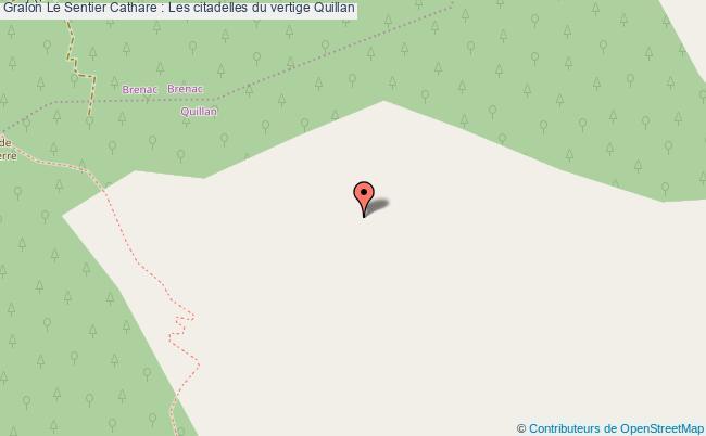 plan Le Sentier Cathare : Les Citadelles Du Vertige Quillan