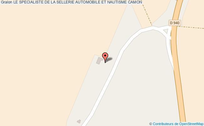 plan Le Specialiste De La Sellerie Automobile Et Nautisme Camon