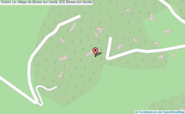 plan Le Village De Besse Sur Issole (83) Besse-sur-issole