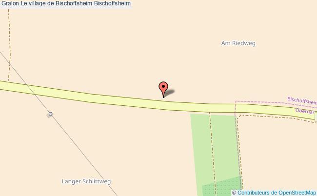 plan Le Village De Bischoffsheim Bischoffsheim