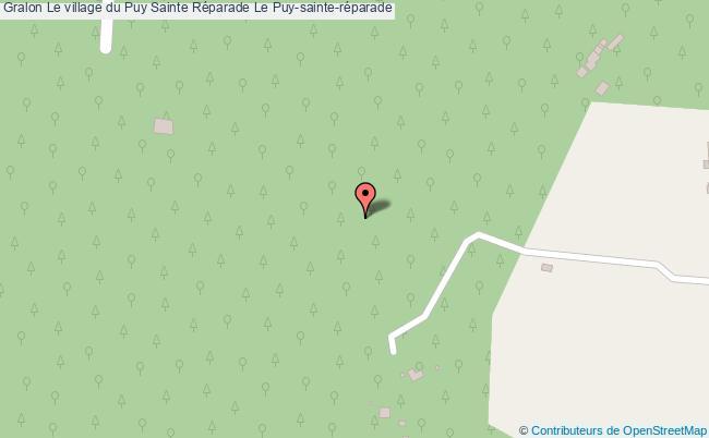 plan Le Village Du Puy Sainte Réparade Le Puy-sainte-réparade