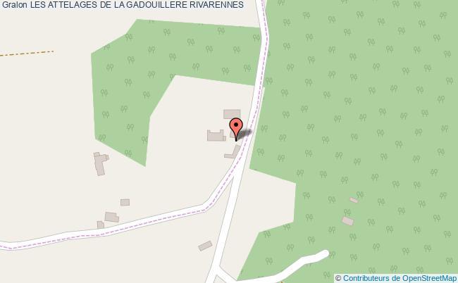 plan Les Attelages De La Gadouillere Rivarennes