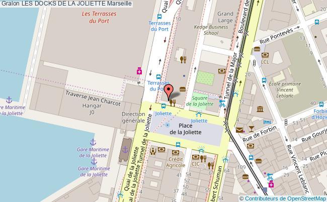plan Les Docks De La Joliette Marseille