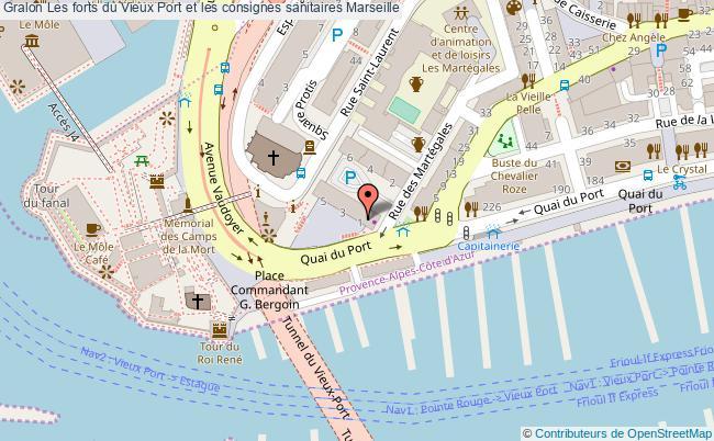 plan Les Forts Du Vieux Port Et Les Consignes Sanitaires Marseille