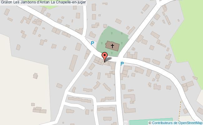 plan Les Jambons D'antan La Chapelle-en-juger
