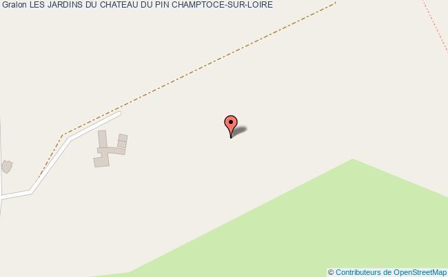 plan association Les Jardins Du Chateau Du Pin Champtoce-sur-loire CHAMPTOCE-SUR-LOIRE