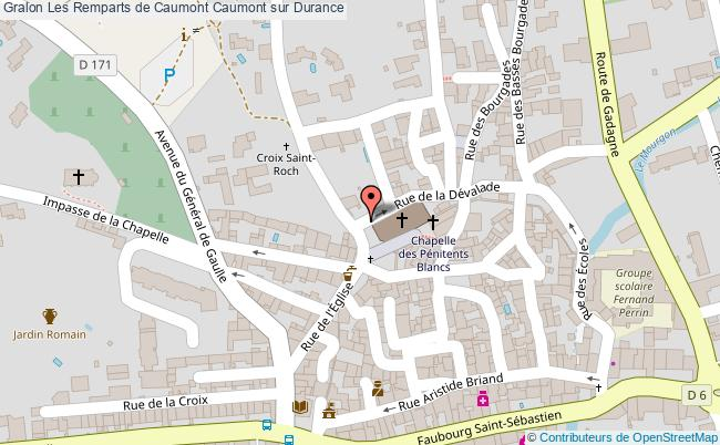 plan Les Remparts De Caumont Caumont Sur Durance