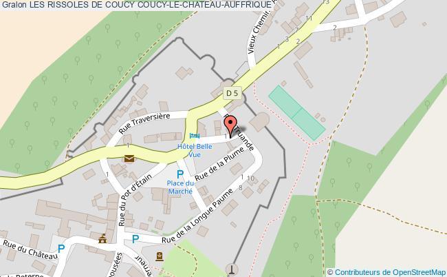 plan Les Rissoles De Coucy Coucy-le-chateau-auffrique