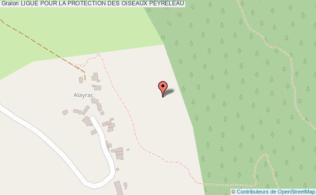 plan Ligue Pour La Protection Des Oiseaux Peyreleau