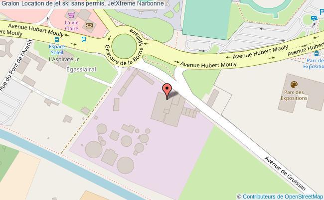 plan Location De Jet Ski Sans Permis, Jetxtreme Narbonne