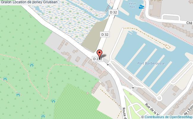 plan Location De Poney Gruissan