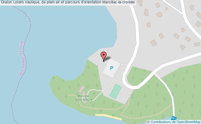 plan Loisirs Nautique, De Plein Air Et Parcours D'orientation Marcillac-la-croisille