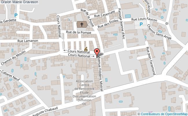 plan Mairie Graveson