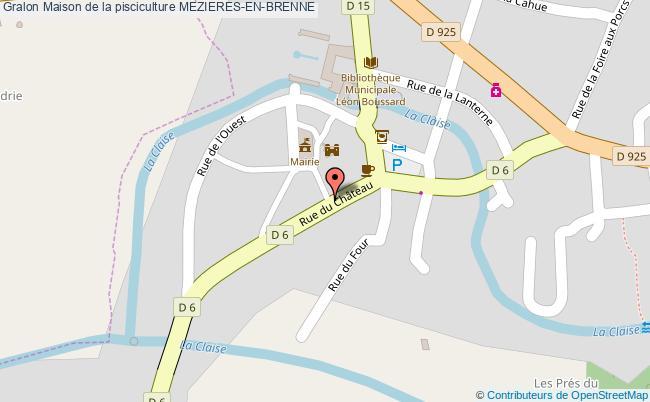 plan Maison De La Pisciculture Mezieres-en-brenne