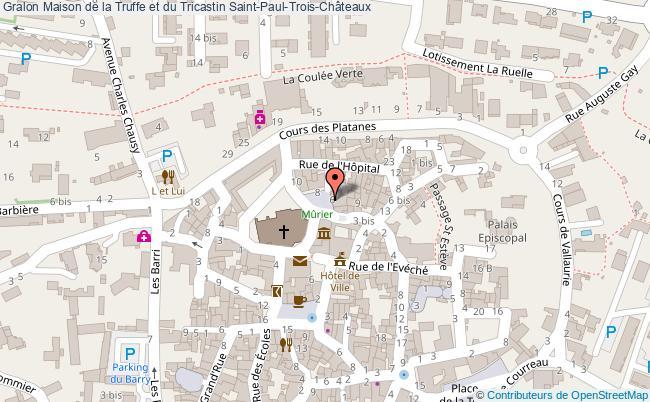 Maison de la truffe et du tricastin saint paul trois - Office du tourisme saint paul trois chateaux ...