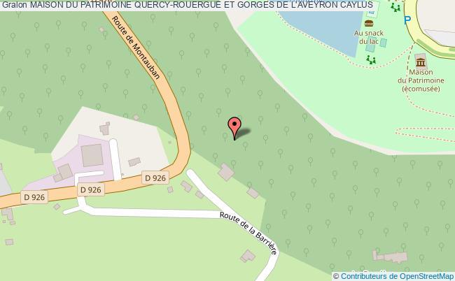 plan Maison Du Patrimoine Quercy-rouergue Et Gorges De L'aveyron Caylus