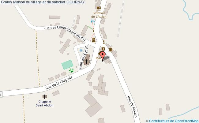 plan Maison Du Village Et Du Sabotier Gournay