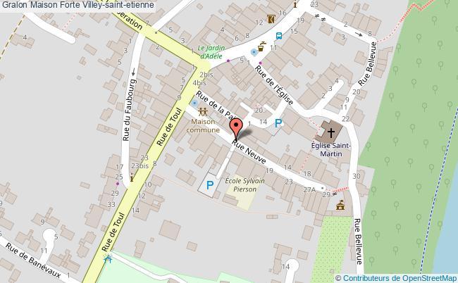 plan association Maison Forte Villey-saint-etienne Villey-saint-etienne