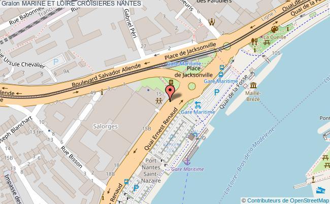 plan Marine Et Loire Croisieres Nantes