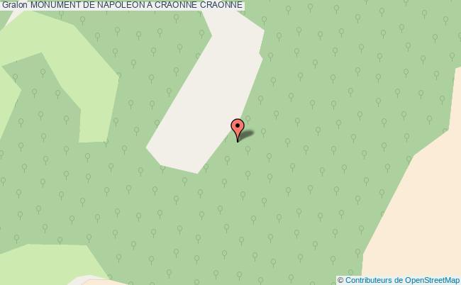 plan Monument De Napoleon A Craonne Craonne