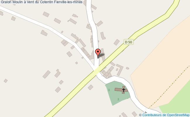 plan association Moulin à Vent Du Cotentin Fierville-les-mines Fierville-les-mines