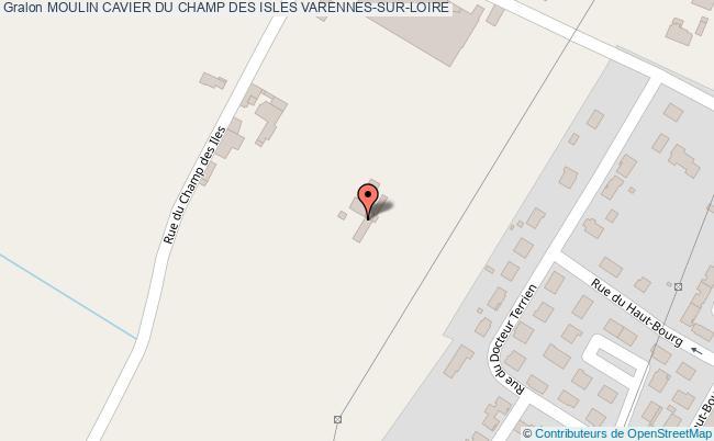 plan association Moulin Cavier Du Champ Des Isles Varennes-sur-loire VARENNES-SUR-LOIRE