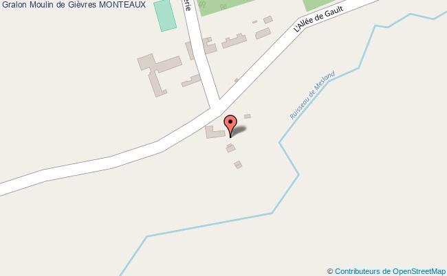 plan Moulin De Gièvres Monteaux