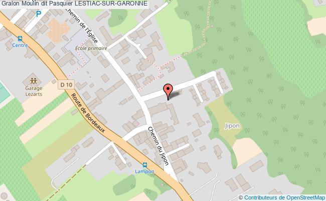 plan Moulin Dit Pasquier Lestiac-sur-garonne
