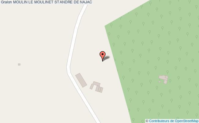 plan Moulin Le Moulinet St Andre De Najac