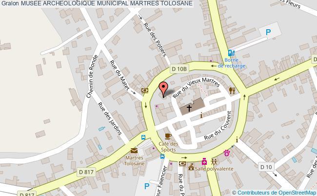 plan Musee Archeologique Municipal Martres Tolosane