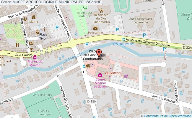 plan MusÉe ArchÉologique Municipal Pelissanne