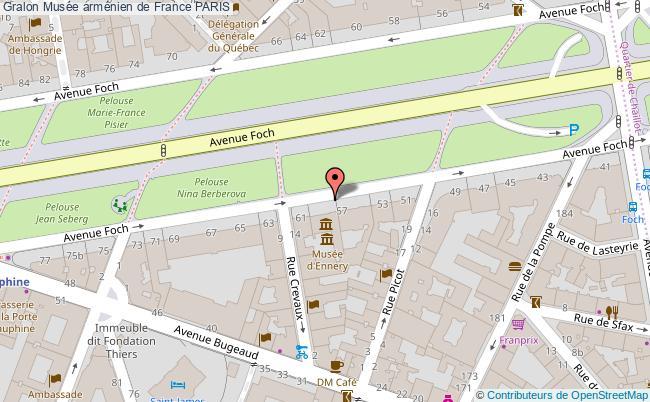 plan Musée Arménien De France Paris