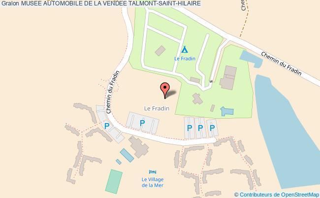 plan Musee Automobile De La Vendee Talmont-saint-hilaire