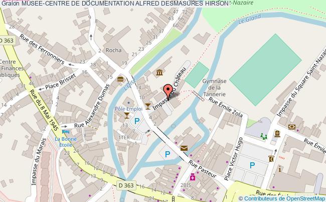 plan Musee-centre De Documentation Alfred Desmasures Hirson