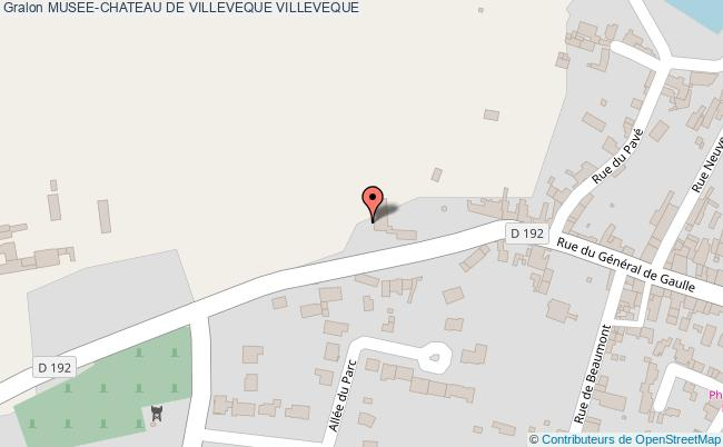plan Musee-chateau De Villeveque Villeveque