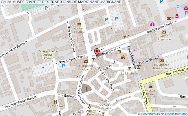 plan MusÉe D'art Et Des Traditions De Marignane Marignane