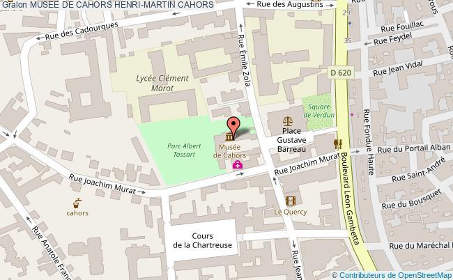 plan Musee De Cahors Henri-martin Cahors