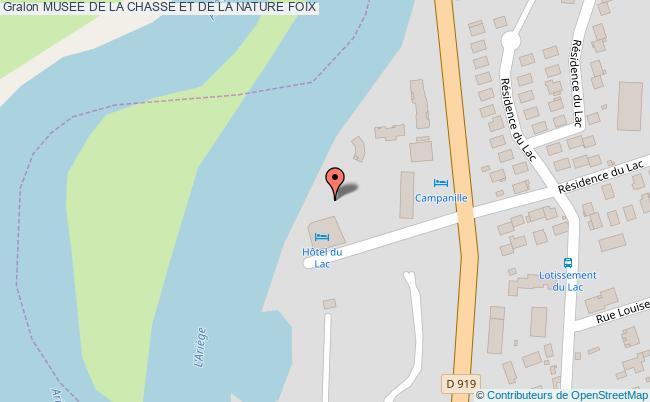 plan association Musee De La Chasse Et De La Nature Foix FOIX