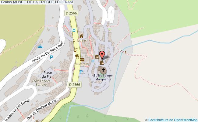 plan Musee De La Creche Luceram