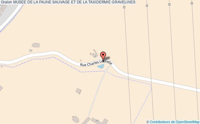 plan MusÉe De La Faune Sauvage Et De La Taxidermie Gravelines