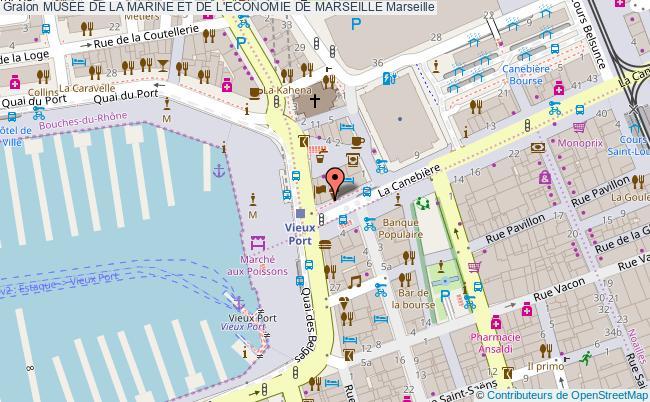 plan MusÉe De La Marine Et De L'economie De Marseille Marseille