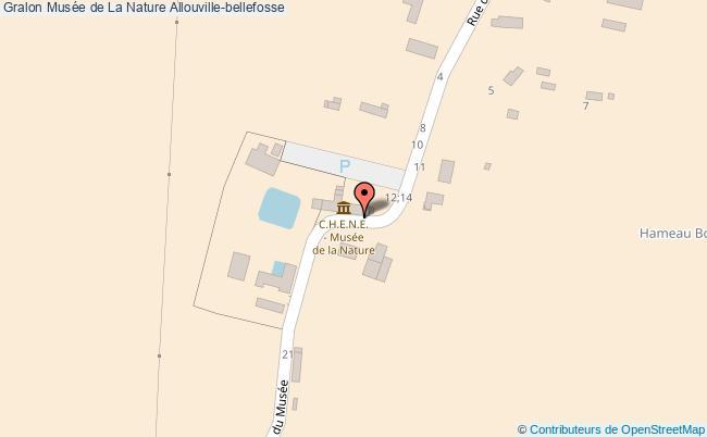 plan association Musée De La Nature Allouville-bellefosse Allouville-bellefosse