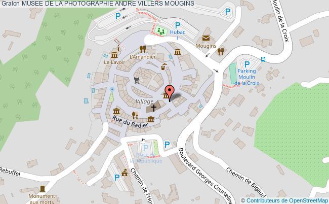 plan Musee De La Photographie Andre Villers Mougins