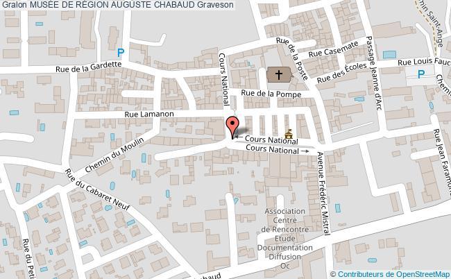 plan MusÉe De RÉgion Auguste Chabaud Graveson