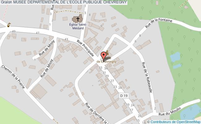 plan Musee Departemental De L'ecole Publique Chevregny